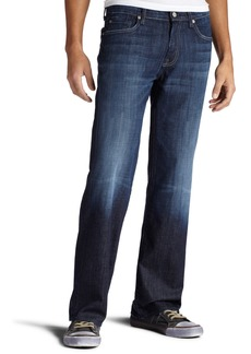 7 For All Mankind Men's Austyn Relaxed Straight-Leg Jean in Los Angeles Dark Los Angeles Dark 40x34