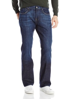 7 For All Mankind Men's Brett Slim Bootcut Jean Los Angeles Dark 40x34