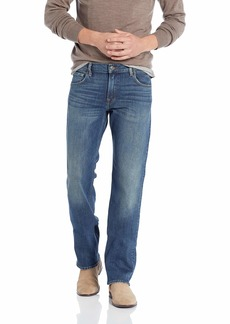 7 For All Mankind Men's Jeans Light Wash Relaxed Fit Straight Leg Pant