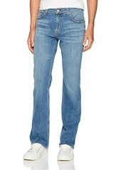 7 For All Mankind Men's Jeans Light Wash Relaxed Fit Straight Leg Pant A