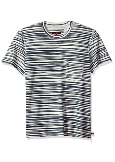 7 For All Mankind Men's Short Sleeve Abstract T-Shirt  XL