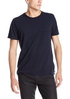 7 For All Mankind Men's Short Sleeve Cotton Raw Pocket T-Shirt  Large