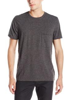 7 For All Mankind Men's Short Sleeve Raw Pocket T-Shirt