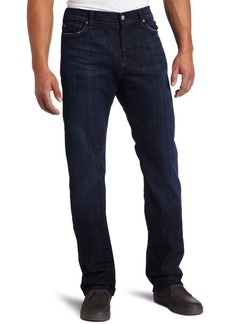 7 For All Mankind Men's Standard Straight Leg Jean in Los Angeles Dark  Los Angeles Dark 36X34