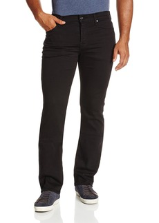 7 For All Mankind Men's Standard Straight-Leg Luxe Performance Jean Nightshade Black