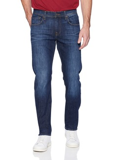 7 For All Mankind Men's Tapered Straight-Leg Jean