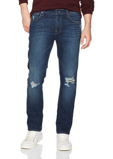 7 For All Mankind Men's The Slimmy Ripped Jean in Kolingsworth Detroyed
