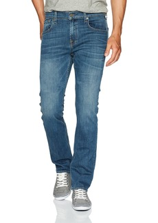 7 For All Mankind Men's The Standard Straight Fit Jean in Richard Blue
