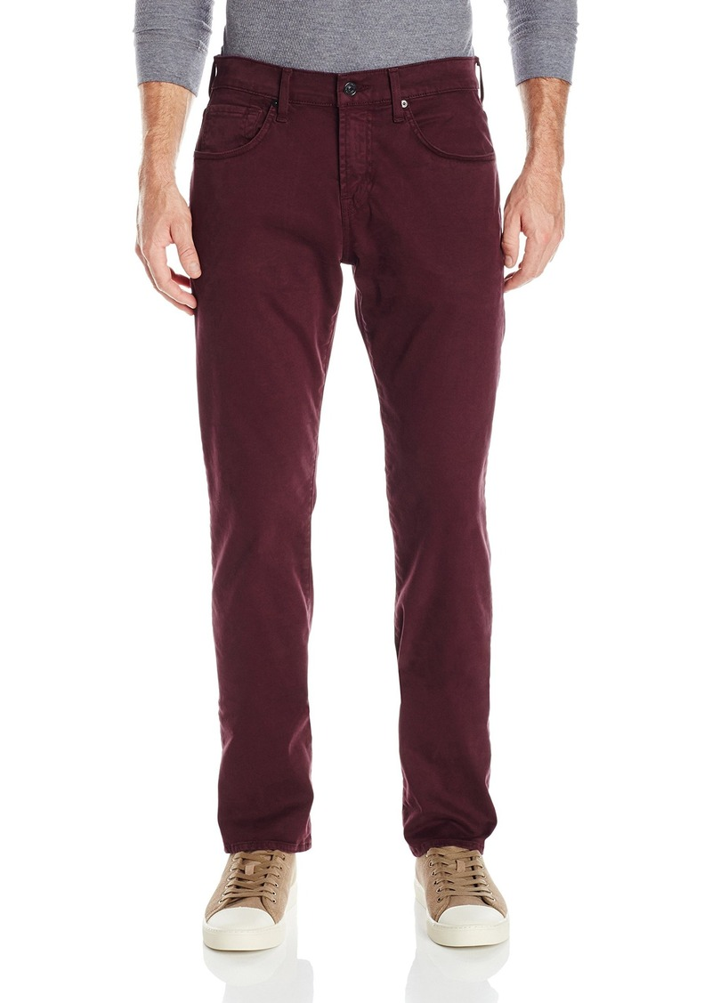 7 For All Mankind Men's Tapered Straight Leg Jean in Luxe Performance  36