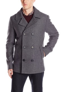 7 For All Mankind Men's Wool Peacoat