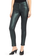 7 For All Mankind® Metallic Ankle Skinny Jeans