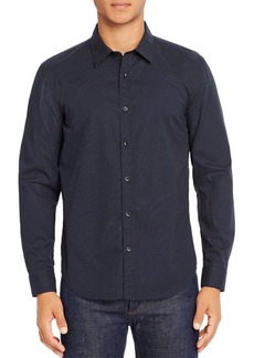7 For All Mankind Micro-Dot Print Regular Fit Shirt