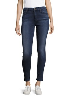7 For All Mankind Mid-Rise Skinny Ankle Jeans