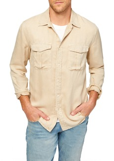 7 For All Mankind Military Button-Up Shirt