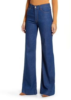 7 For All Mankind Modern Dojo Wide Leg Jeans (Avant Rinse)