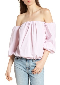 7 For All Mankind® Off the Shoulder Top