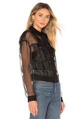 7 For All Mankind Organza Bubble Jacket