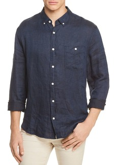 7 For All Mankind Oxford Linen Button-Down Shirt