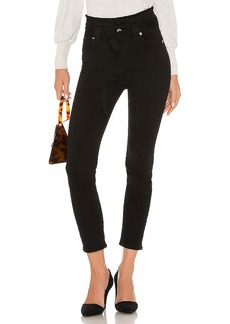 7 For All Mankind Paper Bag Roxanne Ankle Skinny