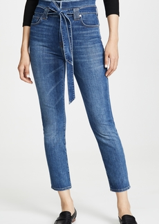7 For All Mankind Paperbag Jeans