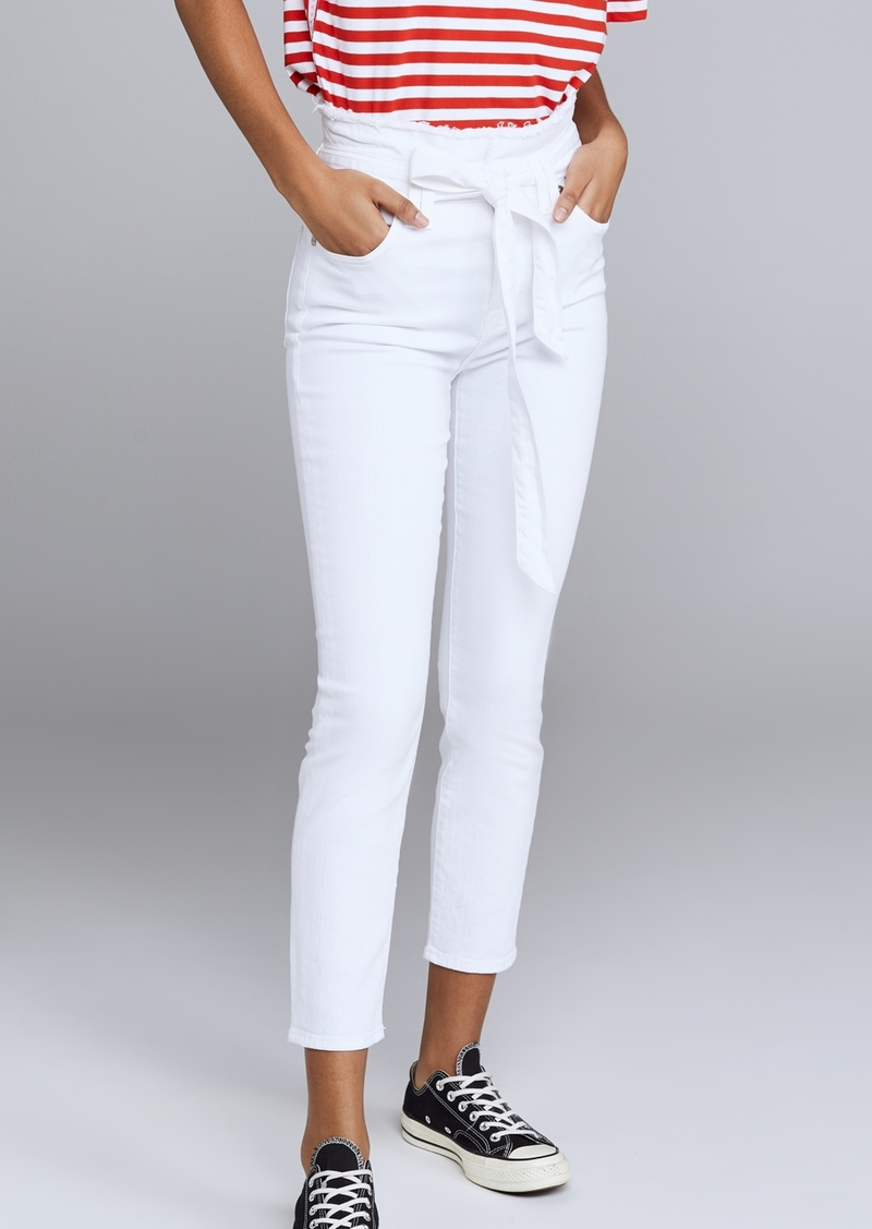 7 For All Mankind Paperbag Pants