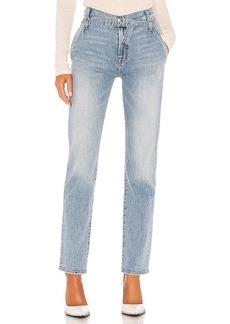 7 For All Mankind Paperbag Slim Straight