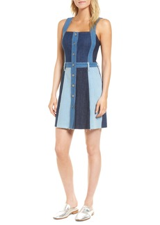 7 For All Mankind® Patchwork Denim Dress