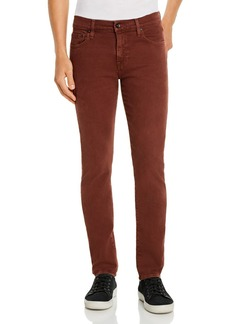 7 For All Mankind Paxtyn Skinny Fit Jeans in Cabernet