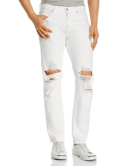 7 For All Mankind Paxtyn Skinny Fit Jeans in White