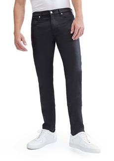 7 For All Mankind® Paxtyn Skinny Jeans (Coated Black)