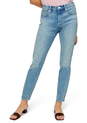 7 For All Mankind® Peggi High Waist Ankle Straight Leg Jeans (Ventana)