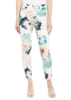 7 For All Mankind® Print Ankle Skinny Jeans (Brilliant Bloom Floral)
