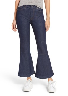 7 For All Mankind® Priscilla High Waist Crop Flare Jeans (Wilshire Rinse)