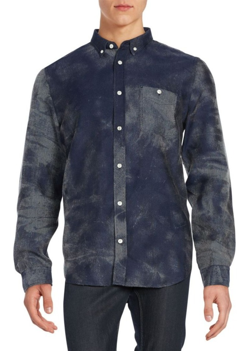 7 For All Mankind Regular-Fit Mineral Oxford Sportshirt