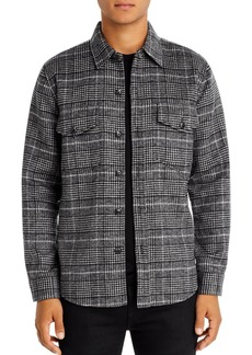 7 For All Mankind Regular Fit Plaid Shirt Jacket