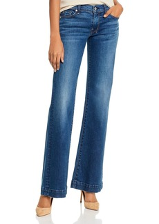 7 For All Mankind Reissue Dojo Low-Rise Flared Jeans