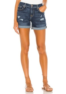 7 For All Mankind Relaxed Midroll Short