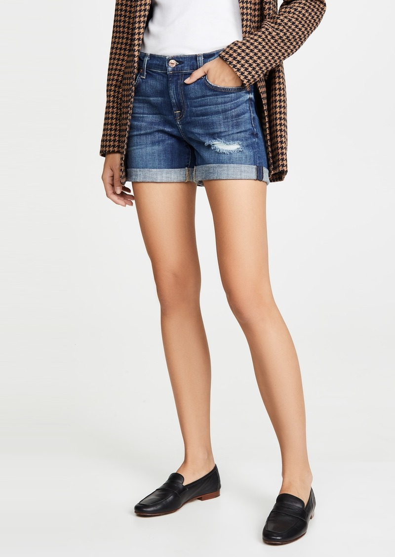 7 For All Mankind Relaxed Midroll Shorts