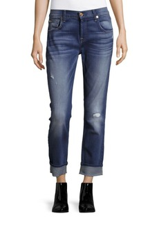 7 For All Mankind Relaxed Skinny Boyfriend Jeans
