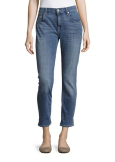 7 For All Mankind Relaxed Skinny Whiskered Jeans