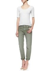7 For All Mankind Relaxed Slim-Fit Denim Jeans