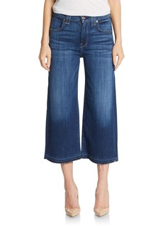 7 For All Mankind Released-Hem Culottes