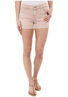 7 For All Mankind Released Hem Shorts in Pink
