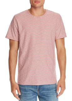 7 For All Mankind Reverse Feeder Striped Tee