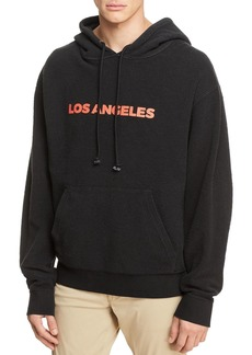 7 For All Mankind Reversible Hooded Sweatshirt