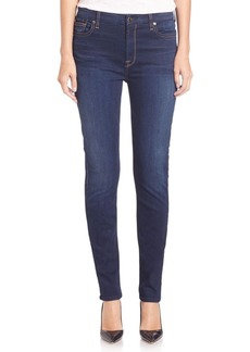 7 For All Mankind Rich Touch Skinny Jeans
