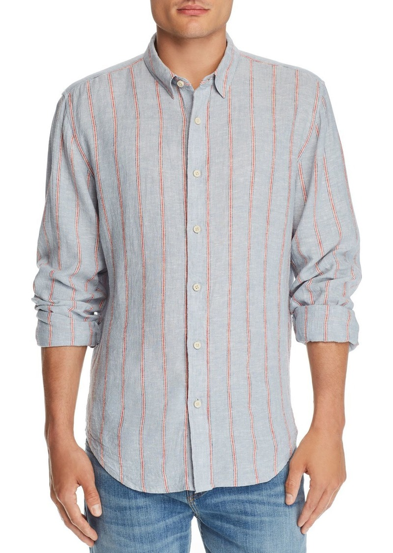7 For All Mankind Roadster Striped Regular Fit Shirt