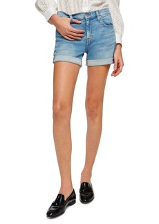 7 For All Mankind® Roll Cuff Denim Shorts (Melrose)