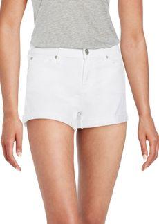 7 For All Mankind Roll-Up Cuffed Denim Shorts