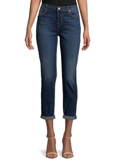 7 For All Mankind Rolled Cuff Jeans